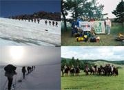 Школа подготовки по спортивнгому туризму горный, конный в турклубе АТО