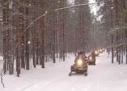 Снегоход в Карелии отличное приключение зимой