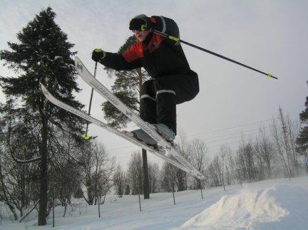 Гоные лыжи в Карелии