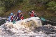 Сплав на рафтах по реке Укса - настоящее путешествие для отчаянных
